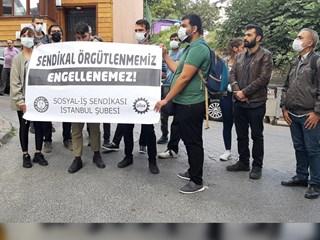 MAVİ KALEM'DE SENDİKALAŞMA HAKIMIZ ENGELLENEMEZ!